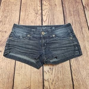 Women's Guess Jeans Short Shorts Stretch Size 29